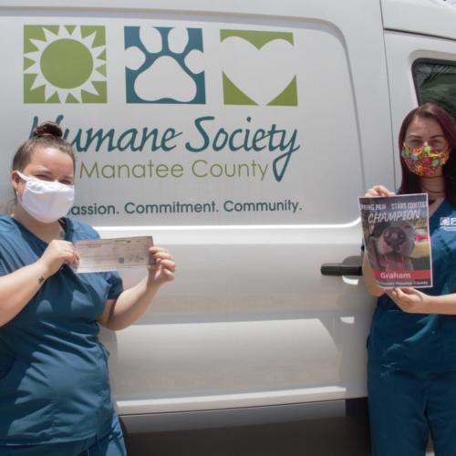 The Winner of our Spring Paw Stars Photo Contest Humane Society of Manatee County, Bradenton, FL